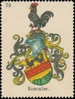 Kahla/Thüringen: Rommler Wappen Reklamemarke - Vignetten (Erinnophilie)