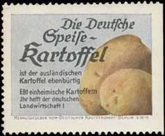 Berlin: Die Deutsche Speise-Kartoffel Reklamemarke - Erinnophilie