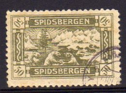 Norway Local Issue For Spitsbergen, Spidsbergen With Ice Bear, Ship Used Item. - Local Post Stamps