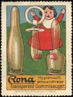 Nürnberg: Rona Nuckel Fürs Baby Reklamemarke - Erinnofilia