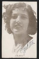 RITA INA, U Filmu FANTOM DURMITORA - FOTO SA ORIGINALNIM AUTOGRAMOM - Vintage PHOTO With ORIGINAL Autograph (YU05-16) - Attori