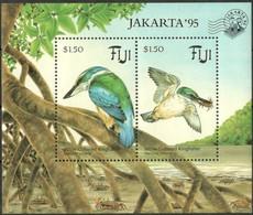 Fiji Fidji 1994 Yvertn° Bloc 13 *** MNH Cote 14 € Faune Oiseaux Vogels Birds Martin-pêcheur Ijsvogel - Birds