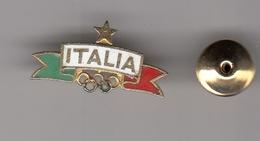 Enamel Pin Badge  NOC Italy Italia  Olympic Games Olympics Olympia National Committee - Giochi Olimpici