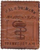 Frankfurt/Main: Apotheke Vial & Uhlmann Reklamemarke - Cinderellas