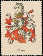 Thoms Wappen Reklamemarke - Cinderellas