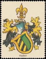 Huber Wappen Reklamemarke - Cinderellas