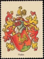 Hahn Wappen Reklamemarke - Vignetten (Erinnophilie)