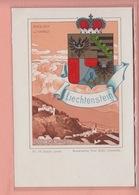 OUDE POSTKAART - LIECHTENSTEIN - 1900'S - VADUZ - ILLUSTRIERT CASPARI - Liechtenstein