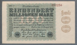P107g Ro106va DEU-120o/a  100 Million Mark 1923  UNC NEUF - 100 Miljoen Mark