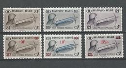 Belgique : CF 295/ 300 * - 1942-1951