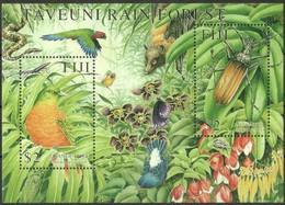 Fiji Fidji 2001 Yvertn° Bloc 39 *** MNH Cote 10 € Faune Oiseaux Vogels Birds Insecte - Autres