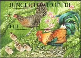 Fiji Fidji 2001 Yvertn° Bloc 40 *** MNH Cote 10 € Faune Oiseaux Vogels Birds Insecte - Gallinacées & Faisans