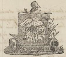 Paris 1808 Bureau Du Personnel Des Émigrés Inscription Guyot Employé De L'armée  Héraldique - Documentos Históricos