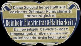 Schappe Seide Reklamemarke - Erinofilia