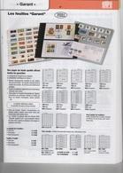Paquet De 5 Feuilles Noires à 4 Bandes SAFE Garant Réf. 734 à Moins 50 % - Albums & Binders