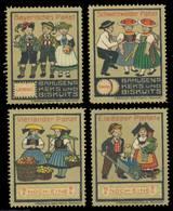 Hannover: Keks - Trachten Sammlung - Erinnophilie
