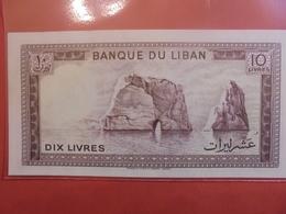 LIBAN 10 LIVRES 1964-86 PEU CIRCULER - Liban