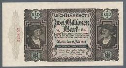 P89 Ro89b DEU-101b. 2 Million Mark 19.11.1923 AUNC+ - [ 3] 1918-1933 : Repubblica  Di Weimar