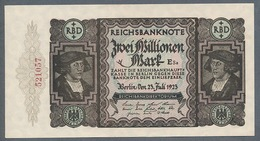 P89a Ro89b DEU-101b. 2 Million Mark 19.11.1923 AUNC+ - 2 Millionen Mark