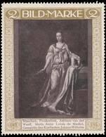 Adriaen Van Der Werff - Maria Anna Loisia De Medici Reklamemarke - Erinofilia