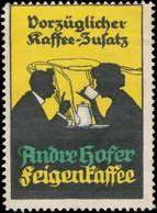 Salzburg: Andre Hofer Feigenkaffee Reklamemarke - Cinderellas