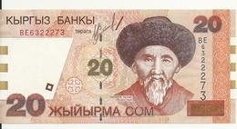 KIRGHIZISTAN 20 SOM 2002 UNC P 19 - Kirghizistan