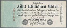P95 Ro94 DEU-106. 5 Million Mark 1923 AUNC+ Pas De Plis! - [ 3] 1918-1933 : République De Weimar