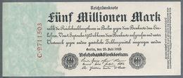 P95 Ro94 DEU-106. 5 Million Mark 1923 UNC NEUF - [ 3] 1918-1933 : République De Weimar