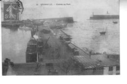 GRANVILLE  Entrée Du Port - Granville