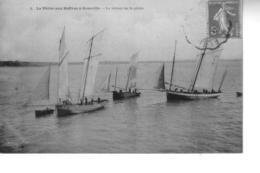 La Pêche Aux Huîtres à GRANVILLE  Le Retour De Pêche - Granville