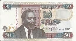 KENYA 50 SHILLINGI 2010 UNC P 47 E - Kenya