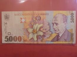 ROUMANIE 5000 LEI 1998 CIRCULER - Roumanie