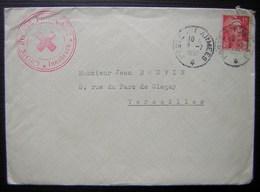 Croix Rouge Française En Autriche (Innsbruck) 1951, Lettre Avec Cachet, Correspondance Et Document, Voir Photo - 1921-1960: Periodo Moderno