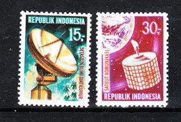 Indonesia - 1969. Parabola Satellitare : Telecomunicazioni. Satellite Dish: Telecommunications. MNH - Telecom