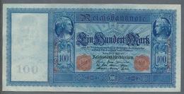 P42 Ro43b 100  Mark 1910 AUNC+ - [ 2] 1871-1918 : Duitse Rijk