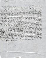 1861 TLEMCEN  à ORAN (Algérie) Lettre En Hébreu - Documents Historiques