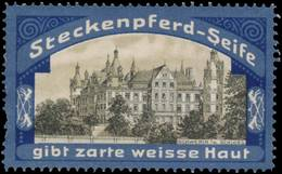 Radebeul: Schloss Schwerin Reklamemarke - Cinderellas