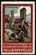 Frankenthal: Rottenburg Reklamemarke - Cinderellas