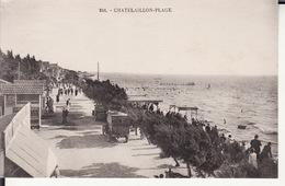 CPA 17 -- CHATELAILLON PLAGE -- A Marée Haute - Châtelaillon-Plage