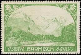 Garmisch: Garmisch Reklamemarke - Cinderellas