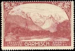 Garmisch-Partenkirchen: Garmisch Reklamemarke - Cinderellas