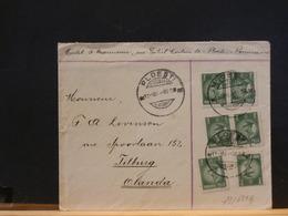 79/635A    LETTRE ROUMANIA  1932  POUTR LA HOLLANDE - 1918-1948 Ferdinand, Carol II. & Mihai I.