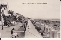 CPA 17 -- CHATELAILLON  -- Boulevard De La Plage - Châtelaillon-Plage