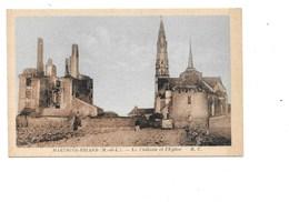 MARTIGNÉ-BRIAND. - Le Chateau Et L'église. - Autres Communes