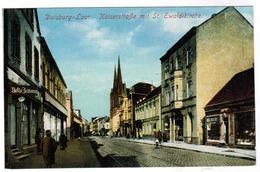 Ak Duisburg Laar, Kaiserstrasse Mit St Eweldikirche (pk55877) - Duisburg