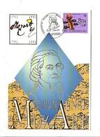 LUXEMBOURG EXPHIMO 91 ANNEE MOZART - Briefmarkenausstellungen