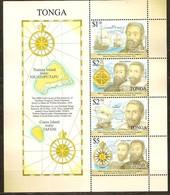 Tonga  2016 Yvertn° Bloc 88 *** MNH Cote 21,60 Euro Bateaux Boten Ships - Tonga (1970-...)