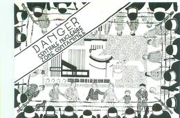 Carte Illustration  - L 'Occitania , Dessin De J Bugarin  , Danger Centrale Nucléaire , Zone Contaminée        AH1122 - Künstlerkarten