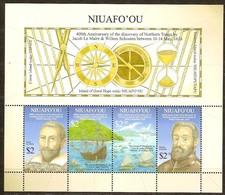 Tonga  Niuafo'ou 2016 Yvertn° Bloc 64 *** MNH Cote 18,40 Euro Bateaux Boten Ships - Tonga (1970-...)