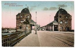 Ak Duisburg Ruhrort, Homberger Bruckenkopf (pk55878) - Duisburg